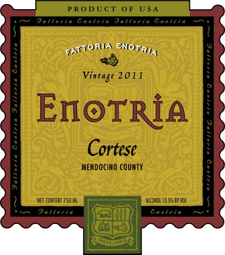 2011 Graziano Family Of Wines Enotria Cortese 750 Ml