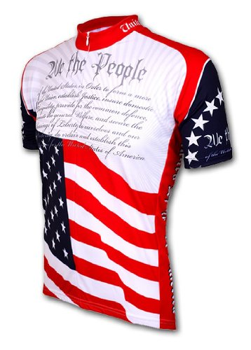 U S Constitution Cycling Jersey XL bicycle bike USA