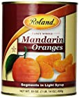 Roland Mandarin Orange Segments in Light Syrup, 30-Ounce Can (Pack of 6)