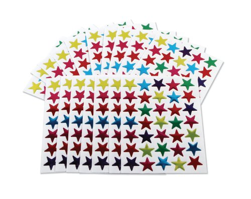 700-coloured-stars