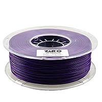 ZIRO 3D Printer Filament PLA 1.75 1KG(2.2lbs), Dimensional Accuracy +/- 0.05mm, Purple by ZIRO