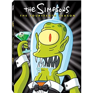 The Simpsons: The Fourteenth Season on DVD