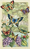Gold Collection Butterfly Forest Counted Cross Stitch Kit-10''X16'' 14 Count