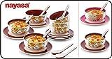 Nayasa Micro Safe Round Soup Set 12 Pc
