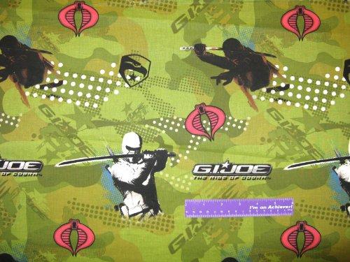 "43"" Year Of Gi Joe Cotton Fabric By The Half Yard front-12450"