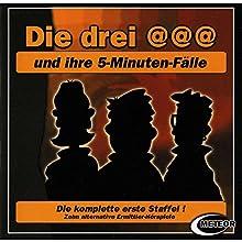 Die drei @@@ und ihre 5-Minuten-Fälle: Die komplette 1. Staffel Hörspiel von Sascha Gutzeit Gesprochen von:  div.