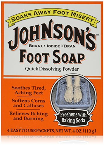 Johnson's Foot Soap 4-Count (3-Pack)