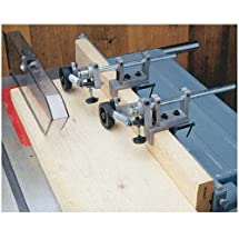 Router Table & Table Saw Anti-Kickback Fence Feeder Safety Roller System