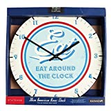 World of Flavours Stateside Metal Clock