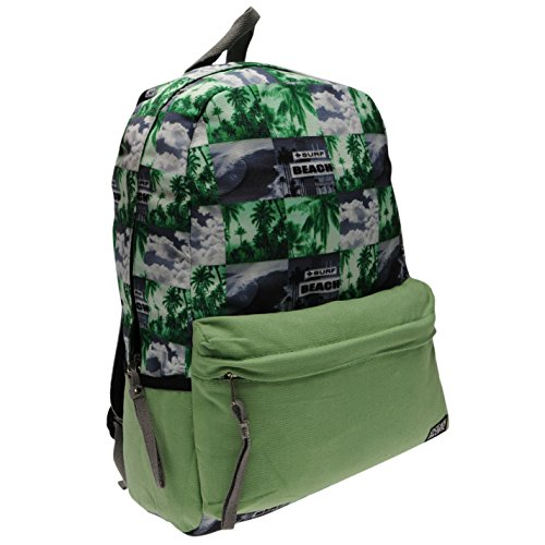 ocean-pacific-palm-all-over-print-rucksack-lime-ladies-backpack-bag-h-50cm-w-30cm-d-10cm