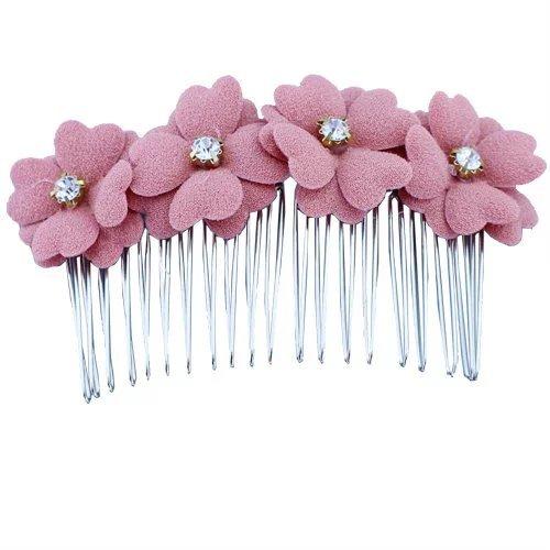 eyx-formula-fashion-woman-korean-style-clover-four-flower-tiara-hairpins-hair-comb-clips-small-fresh