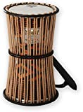 "REMO Talking Drum,  6"" Diameter, 11"" Height, Fabric Afr Stripe"