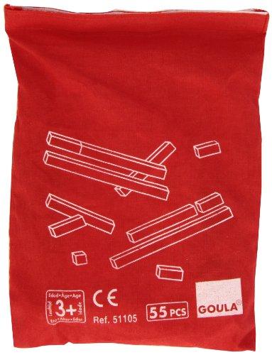 Goula - Regletas de madera con bolsa, juego educativo (Diset 51105)