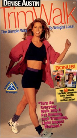 Denise Austin - TrimWalk: The Simple Way To Weight Loss! [VHS]