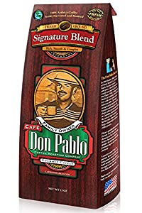 Café Don Pablo - Medium-Dark Ground Signature Blend - 12oz Bag