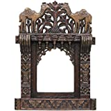 APKAMART Hand Crafted Jharokha Wall Hanging - 27 Inch - Handicraft Decorative Showpiece For Wall Decor, Home Decor, Room Decor, Photo Frame And Gifts