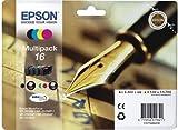 Epson C13T16264010 - 16 Multipack - 4-pack - black, yellow, cyan, magenta - original - ink cartridge - for WorkForce WF-2010, WF-2510, WF-2520, WF-2530, WF-2540, WF-2630, WF-2650, WF-2660