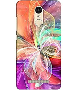 Clarks Printed Back Cover/Case For Xiaomi Redmi Note 3