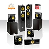 """Crystal Acoustics T2-7.2 Home Theater system with THX Ultra2 Fronts and Ultimate performance Dual THX-10"""" subwoofers."""