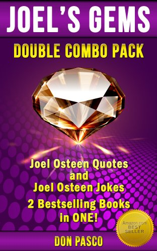 Joel Osteen Quotes & Joel Osteen Jokes - Double Combo Pack - (Joel's Gems Series), by Don Pasco