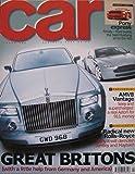 CAR magazine 02/2003 featuring Aston Martin V8 Vantage, Rolls Royce, Audi S4, Ford, BMW, Mercedes