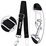 Vastar Adjustable Pet Dog Cat Car Seat Belt Safety Leads Vehicle Seatbelt Harness, Made from Nylon Fabric