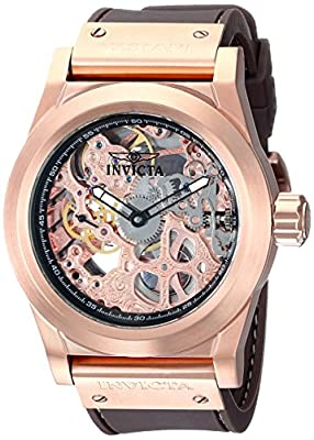 Invicta Corduba Sea Ghost Skeletonized Mechanical Rose Gold-tone Mens Watch 1087
