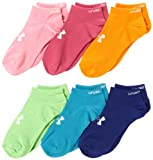 Under Armour Girls Brights No Show Socks