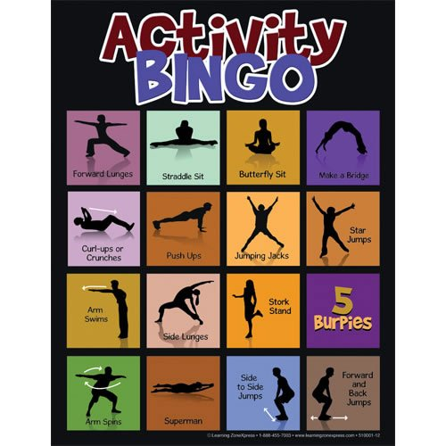 Physical Activity Bingo