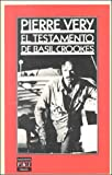 img - for El Testamento Basil Crookes (Spanish Edition) book / textbook / text book