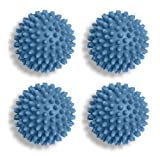 Whitmor Plastic Dryer Balls (Blue, Set of 4)