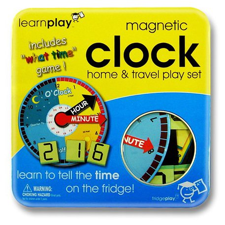 Learnplay - Magnetic Clock Play Set - 1