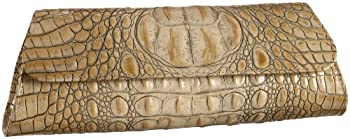 Jalda Croc-Embossed Original Clutch