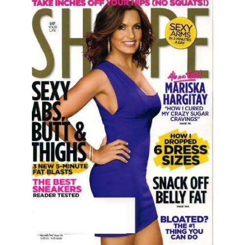 Shape November 2010 Mariska Hargitay on Cover (How I Cured