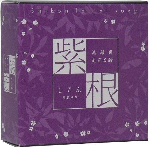 進 紫根石鹸 100g