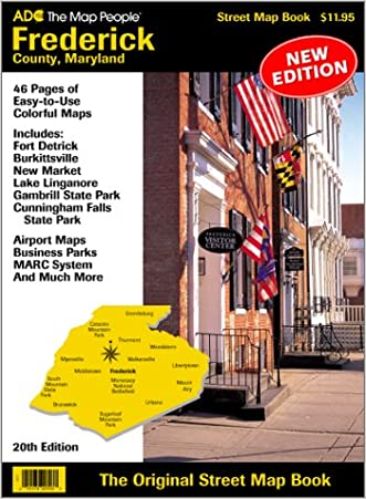 Adc's Street Atlas of Frederick County Maryland