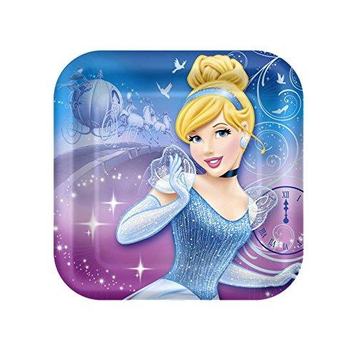 Cinderella Sparkle Birthday Dessert Plates - 1