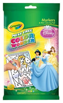 Crayola Color Wonder Mini Coloring Pages, Disney Princess crayola llc crayola oil pastels 28 color set set of 12