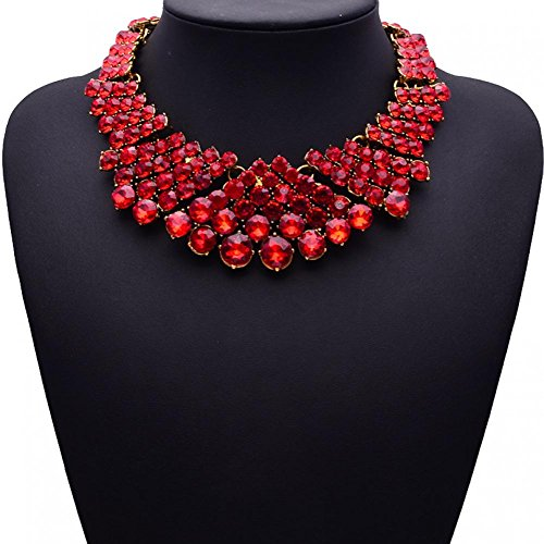 New Female colar rhinestone chunky necklace chain jewelry choker necklace women Europe exaggerated dinner accessories SNE150476