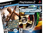 Top Hits Pack (Includes: Need For Speed Underground 2 and Medal of Honour Rising Sun) (PS2)