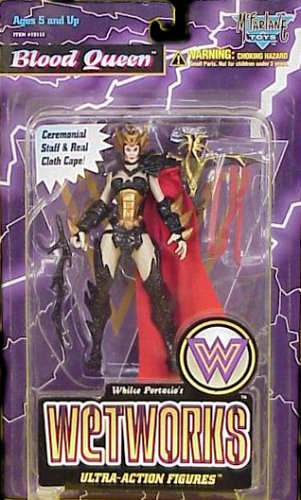 Buy Low Price McFarlane Whilce Portacio's Blood Queen Wetworks Ultra-Action Figure (B000FL564E)