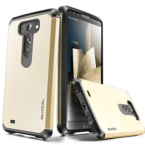 Evocel® LG G Vista [Dual Layer Series] Hybrid Armor Protective Case For LG G Vista (Verizon/AT&T) - Retail Packaging, Gold Medal (EVO-LGGVISTA-SA15) (Phone Case For Vista Lg compare prices)