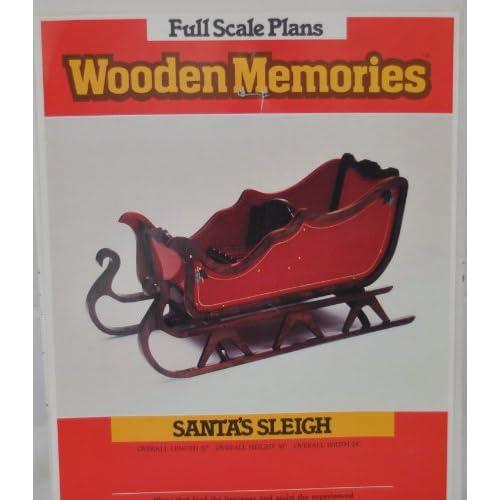 Plans Wooden Memories - Santa's Sleigh - Woodworking Project Plans ...