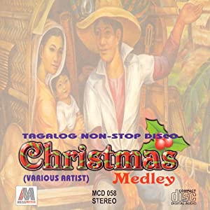 tagalog non stop disco christmas medley philippine tagalog music cd music. Black Bedroom Furniture Sets. Home Design Ideas