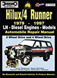img - for Toyota Hilux/4 Runner Diesel 1979-1997 Auto Repair Manual-LN, Diesel Eng 2 & 4 Wheel Drive (Max Ellery's Vehicle Repair Manuals S) book / textbook / text book