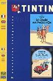 echange, troc Tintin : Le crabe aux pinces d'or / Tintin au pays de l'or noir