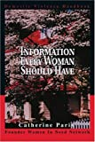 img - for Information Every Woman Should Have: Domestic Violence Handbook book / textbook / text book