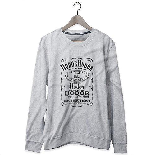 Game Of Thrones Hodor Jack Daniels Sweatshirt Felpa Donna - Express Dispatch - S M L XL XXL sizes