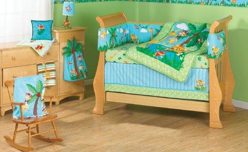 Fisher-Price Rainforest Crib Bedding Set