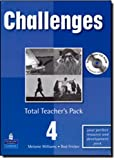 img - for Challenges: Total Teachers Pack 4 and Test Master CD-Rom (Challenges) book / textbook / text book